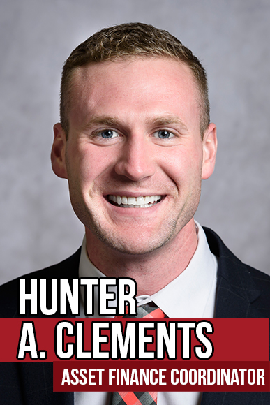Hunter A. Clements, Asset Finance Coordinator